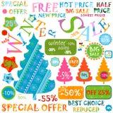De verkoop van de winter Royalty-vrije Stock Afbeeldingen