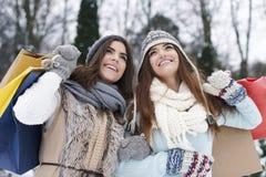 De verkoop van de winter Stock Foto