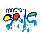 De Verkoop van de winter Stock Afbeeldingen