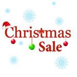 De verkoop van de winter De ballen van Kerstmis Stock Fotografie