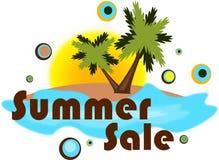 De verkoop van de zomer Stock Afbeeldingen