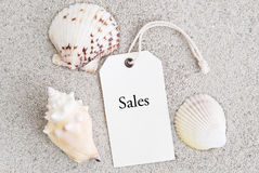 De Verkoop van de zomer Stock Foto's