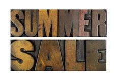 De verkoop van de zomer Stock Afbeelding
