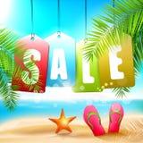 De verkoop van de zomer Royalty-vrije Stock Afbeelding