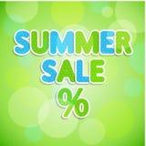 De verkoop van de zomer Royalty-vrije Stock Foto