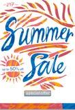De verkoop van de zomer Royalty-vrije Stock Foto's