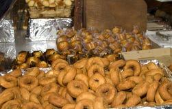 De verkoop van Donuts en van het suikergoed royalty-vrije stock foto