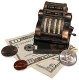 De Verkoop van het contante geld Stock Afbeeldingen