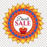 De verkoop van het Diwalifestival vector illustratie