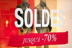 De verkoop van het seizoen Stock Afbeeldingen