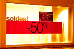De verkoop van het seizoen Royalty-vrije Stock Foto's