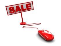 De verkoop van Internet Stock Afbeeldingen