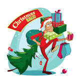 De verkoop van Kerstmis Stock Afbeeldingen