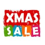 De verkoop van Kerstmis Stock Fotografie