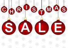 De verkoop van Kerstmis Royalty-vrije Stock Afbeeldingen