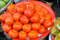 De verkoop van Maketing, vers fruit Royalty-vrije Stock Afbeelding