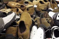 De Verkoop van schoenen Royalty-vrije Stock Foto's