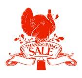 De verkoop van thanksgiving day. Royalty-vrije Stock Foto
