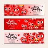 De verkoopachtergrond van de valentijnskaartendag met hart emoticons, emojilachebekjes, vectorillustratie Behang, vliegers royalty-vrije stock fotografie