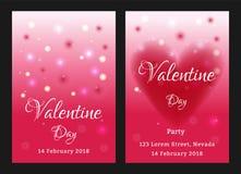 De verkoopachtergrond van de valentijnskaartendag met vastgesteld patroon Vectorillustra Royalty-vrije Stock Afbeelding