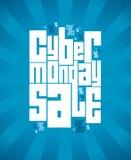 De verkoopbanner van de Cybermaandag Royalty-vrije Stock Afbeeldingen
