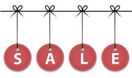 De verkoopetiketten van Kerstmis Stock Foto
