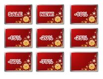 De verkoopmalplaatje van de winter Royalty-vrije Stock Foto