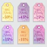 De verkoopmarkering van de valentijnskaartendag Royalty-vrije Stock Foto's