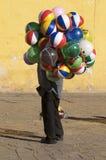 De Verkoper van de ballon stock foto's