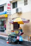 De Verkoper van het fruit in Vietnam Royalty-vrije Stock Foto's