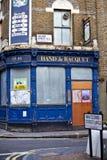 De verlaten Bar van Londen Stock Afbeelding