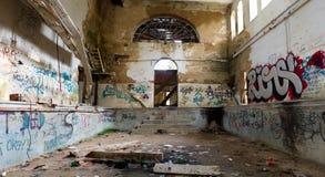 De verlaten bouw Royalty-vrije Stock Fotografie