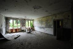 De verlaten bouw Royalty-vrije Stock Foto's