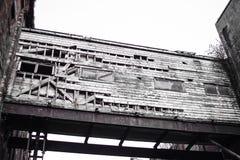 De verlaten Bouw Stock Foto's
