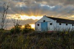De verlaten Bouw in Oostelijk Portugal Royalty-vrije Stock Foto