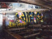 De verlaten elektrische centrale van Market Street New Orleans royalty-vrije stock foto's