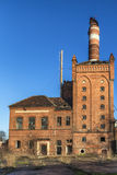 De verlaten fabriek stock fotografie