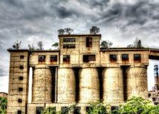 De verlaten fabriek Royalty-vrije Stock Afbeelding
