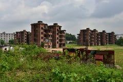 De verlaten gebouwen Royalty-vrije Stock Fotografie