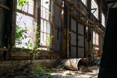 De verlaten Industriële Bouw Royalty-vrije Stock Foto