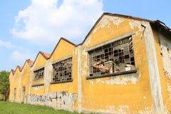 De verlaten industrie Italië Stock Fotografie