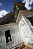 De verlaten Lage Hoek van de Kerk Royalty-vrije Stock Afbeelding
