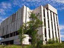 De verlaten onvolledige bouw Stock Fotografie
