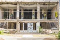 De verlaten oude bouw Royalty-vrije Stock Foto