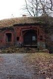 De verlaten oude Duitse bouw Stock Fotografie