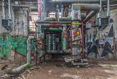 De verlaten plaatsen in Berlijn royalty-vrije stock foto's