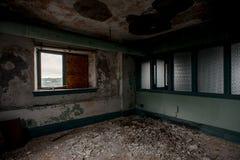 De verlaten Wiekbouw - Youngstown, Ohio stock foto's
