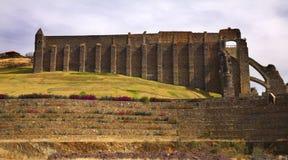 De verlaten Zilveren Mijn Guanajuato Mexico van Valencia Stock Fotografie