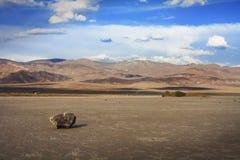 De verlatenheid van de doodsvallei Stock Afbeelding