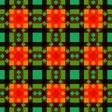 De verlegen grootte regelt patroonachtergrond stock illustratie